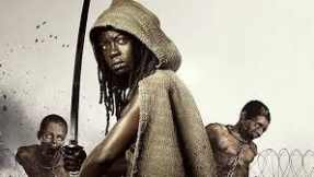 The Walking Dead~ Michonne and Katana Sword as a Melee Weapon