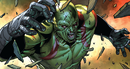 Drax The Detroyer of Marvel Comics
