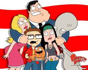 The Main Cast of America Dad!