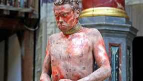 James Garnon's performance as Caliban in the 2013 production at The Globe.