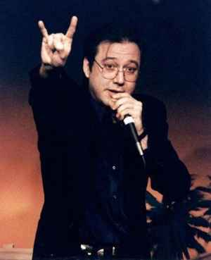 """""""If it's a choice between eternal Hell and good tunes, and eternal Heaven and New Kids on the fuckin' Block … I'm gonna be surfin' on the lake of fire, rockin' out"""" - Bill Hicks"""