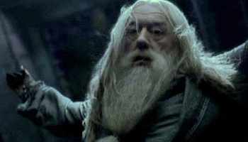 And that same night, in the chapter conveniently titled The Lightning-struck Tower, Dumbledore dies.