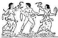 Erinyes pursue Orestes