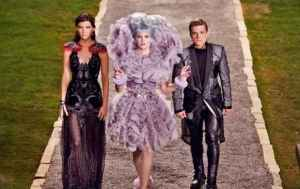 Katniss, Effie and Peeta The Hunger Games