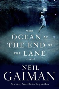 cover art, The Ocean at the End of the Lane