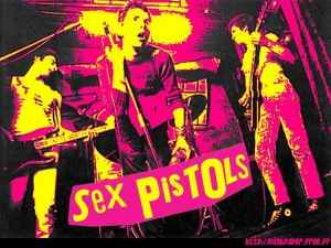 Pink and yellow Sex Pistols