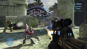 The Halo series does offer genuine challenges, but only as a bonus feature.