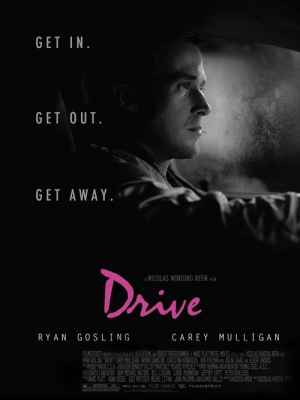Promotional poster for Drive (2011).