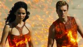 The Girl on Fire The Hunger Games