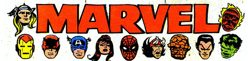Marvel Comics hero banner