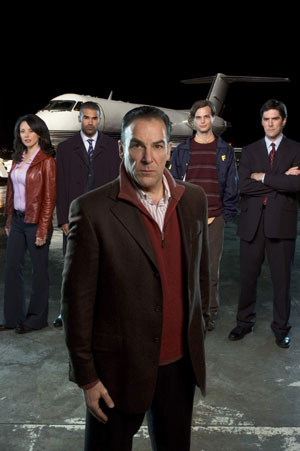 Mandy Patinkin as SSA Jason Gideon in Criminal Minds