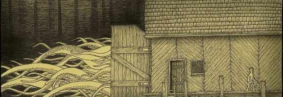 Cthulhu in the Barn, John Kenn Mortensen, 2010.