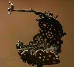Extreme, sculpture by Soheyl Bastami, 2014