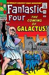 First issue in The Galactus Triliogy arc from Marvel Comics