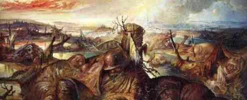 Flanders Field, by Otto Dix, 1934.