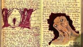 "Guillermo del Toro's sketchbook for ""At the Mountains of Madness."""