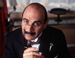 David Suchet as Hercule Poirot in ITV's drama Agatha Christie's Poirot