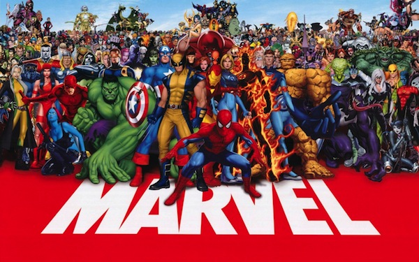 Marvel Superheroes promotional image