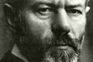 The German sociologist Max Weber.