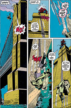 Death of Gwen Stacy from Spider-Man