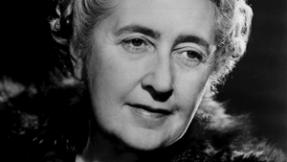 Agatha Christie, famed mystery novelist