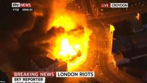 Sky News reports on 2011s London Riots