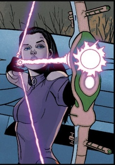 "Kate Bishop in ""Young Avengers"""