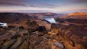 Saddleworth Moor in morning
