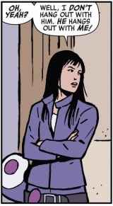 "Kate Bishop in ""Hawkeye"""