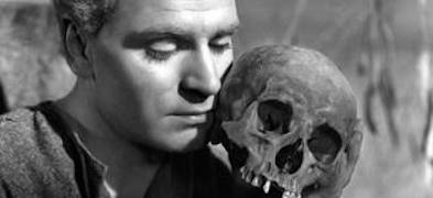 Hamlet remembers the dead in Lawrence Olivier's 1948 version of Hamlet