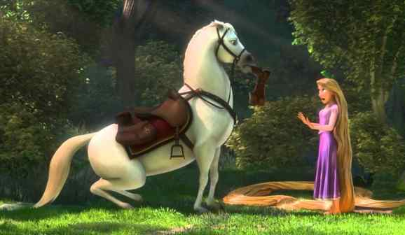 And Rapunzel had him so well trained.