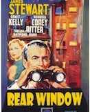 Rear Window movie poster.