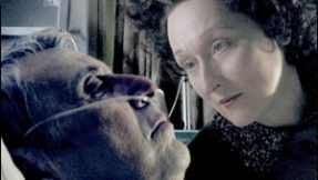 Meryl Streep as Ethel Rosenberg and Al Pacino as Roy Cohn in Angels in America
