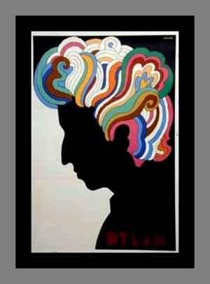 Bob Dylan Poster. Milton Glaser (1967).