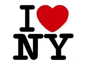 I Love New York. Milton Glaser (1977).