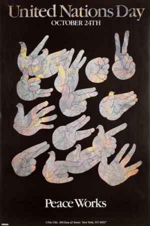 United Nations Day. Milton Glaser (1984).
