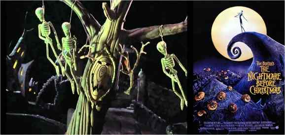 The Nightmare before Christmas, Tim Burton (1993)