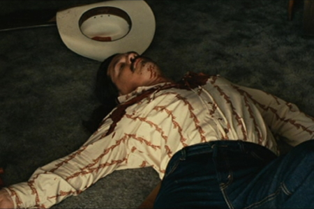 Though we don't see his death, the impact of finding Llewelyn dead in No Country for Old Men is still a harsh sensation.