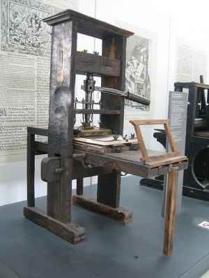 Does the invention of the Internet bring with it the same innovation sparked by the printing press?