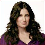 Idina Menzel as Glee's Shelby Corcoran