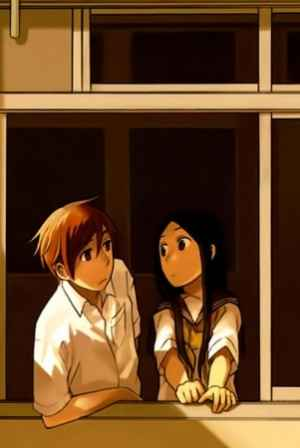 Kazuki and Kanata in their safe haven, the science room