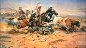 """Herd Quitters"" by Charles Marion Russell depicting the American West."