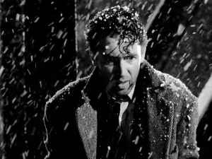 George Bailey's suicide attempt.