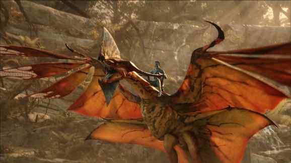 "Jake Sully riding Toruk—""the last shadow."""