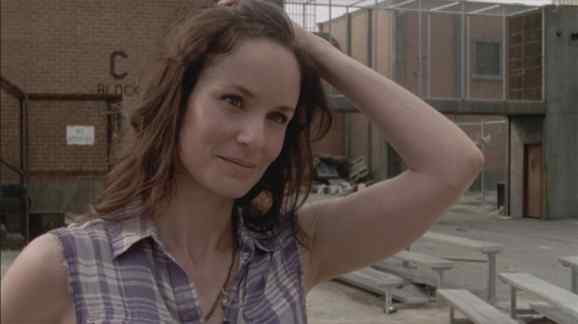 "Lori Grimes in ""Killer Within."""
