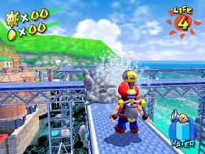 Ricco Harbor in Super Mario Sunshine