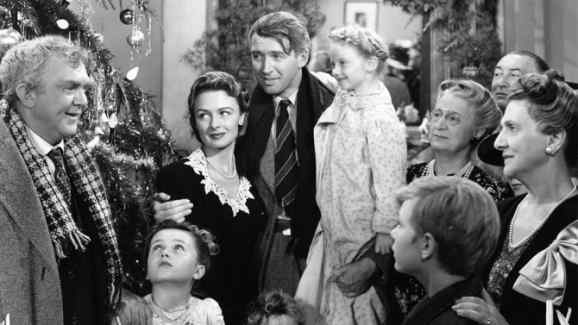 It's A Wonderful Life ending: the family reunited