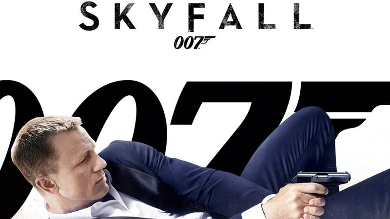 James Bond Skyfall Poster