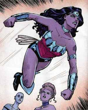 New 52 Wonder Woman as she first appeared