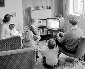Television and casual entertainment has become an accepted part of every-day life.